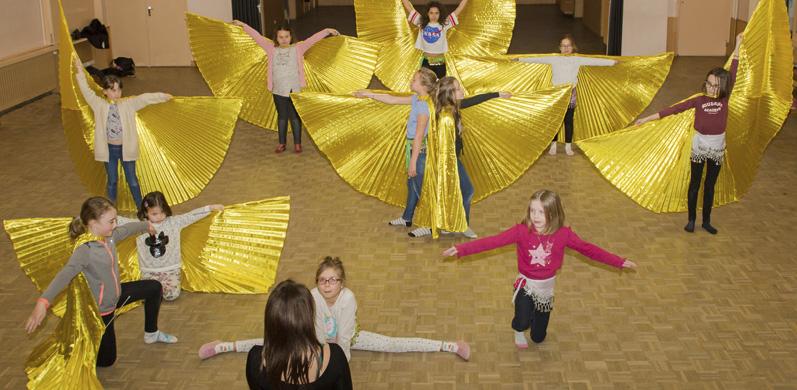 Cours danse enfant As en danse Essonne 91