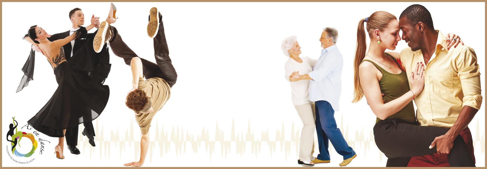 As en danse. Niveaux débutant, intermédiaire et compétiteur.