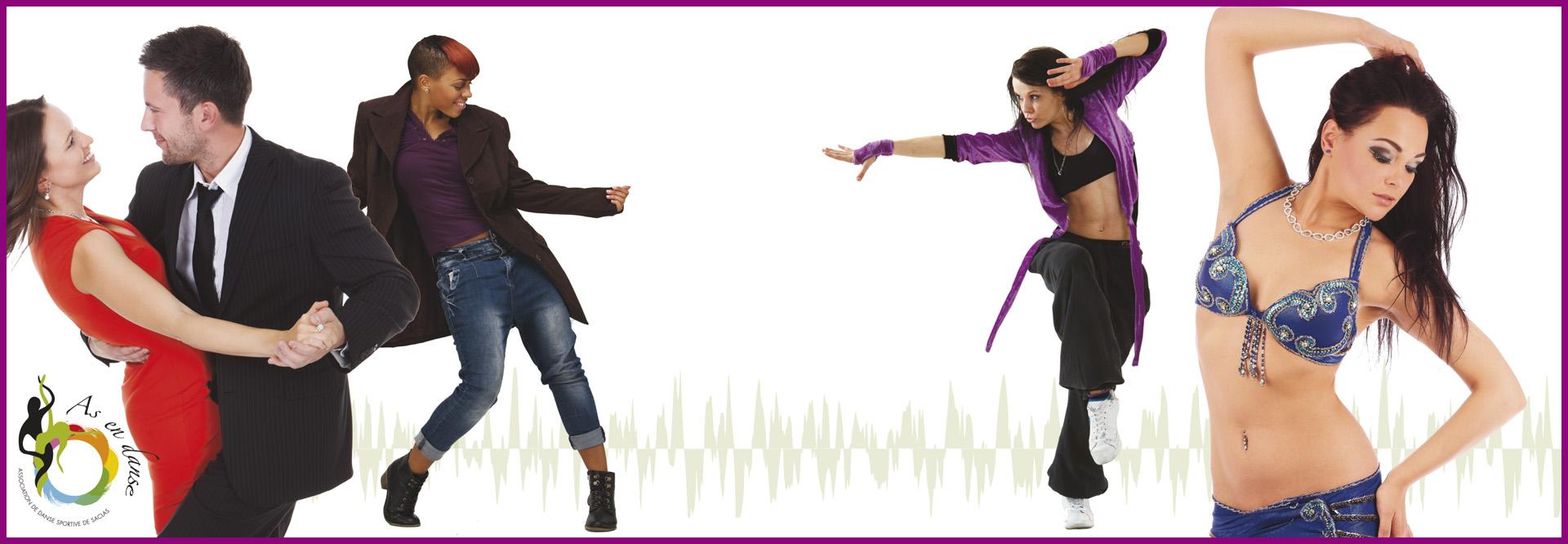 As en danse cours Saclas