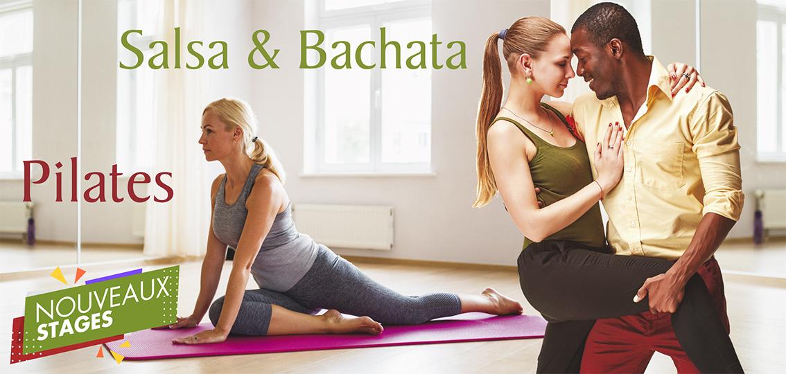 stages pilates salsa bachata As en danse