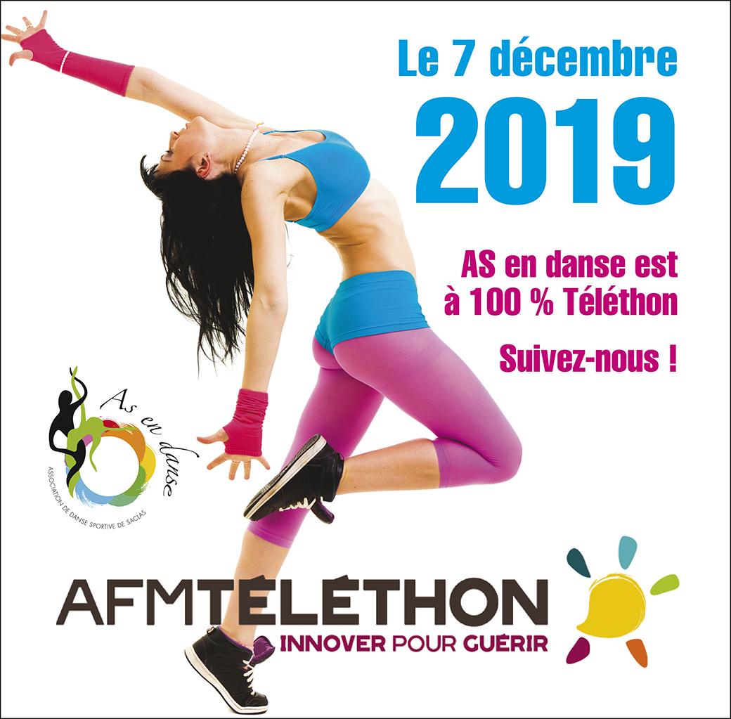 Les 6, 7 et 8 décembre participons au Téléthon 2019 !