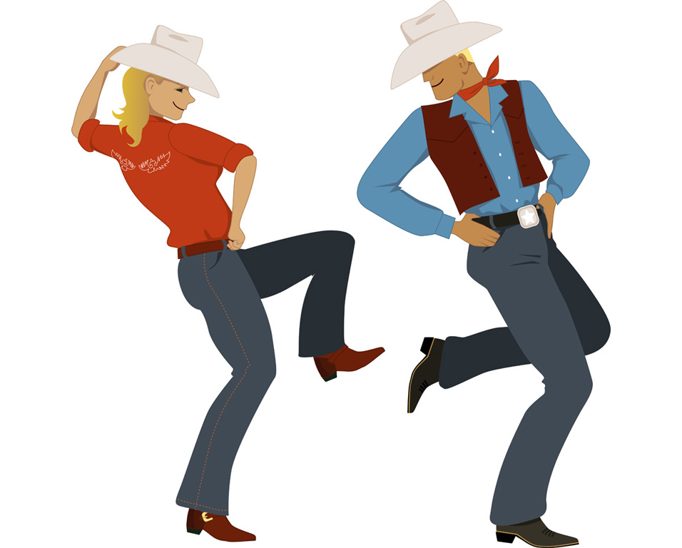 country cours danse